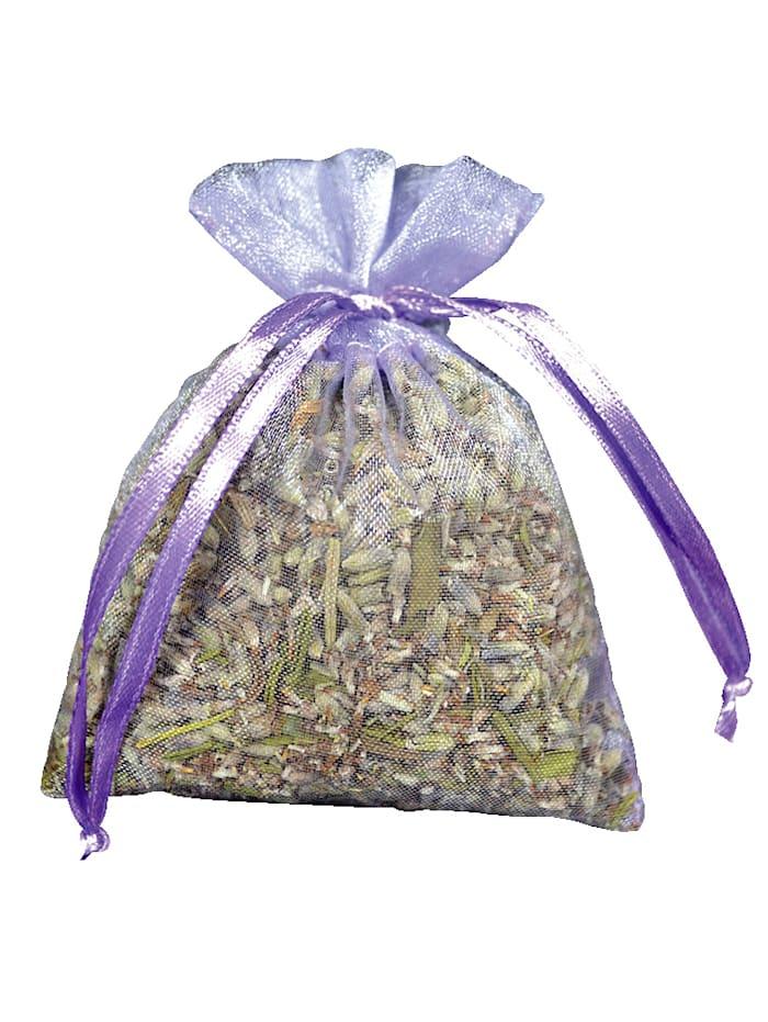 Herbalind Set van 5 geurzakjes met lavendel, neutraal