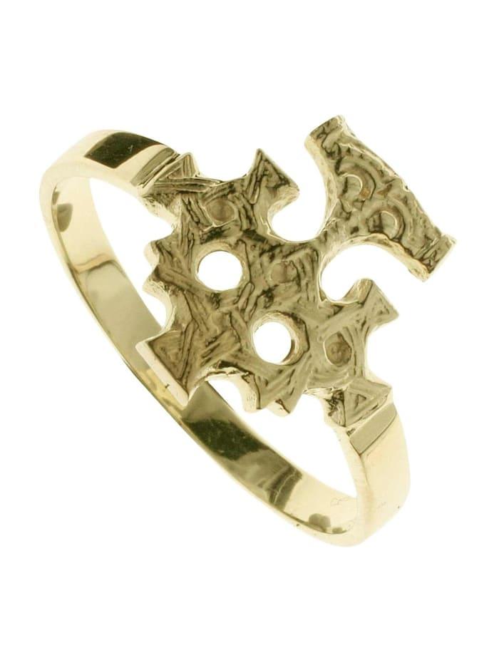 OSTSEE-SCHMUCK Ring - Hiddensee - Gold 333/000 - ohne Stein, gold
