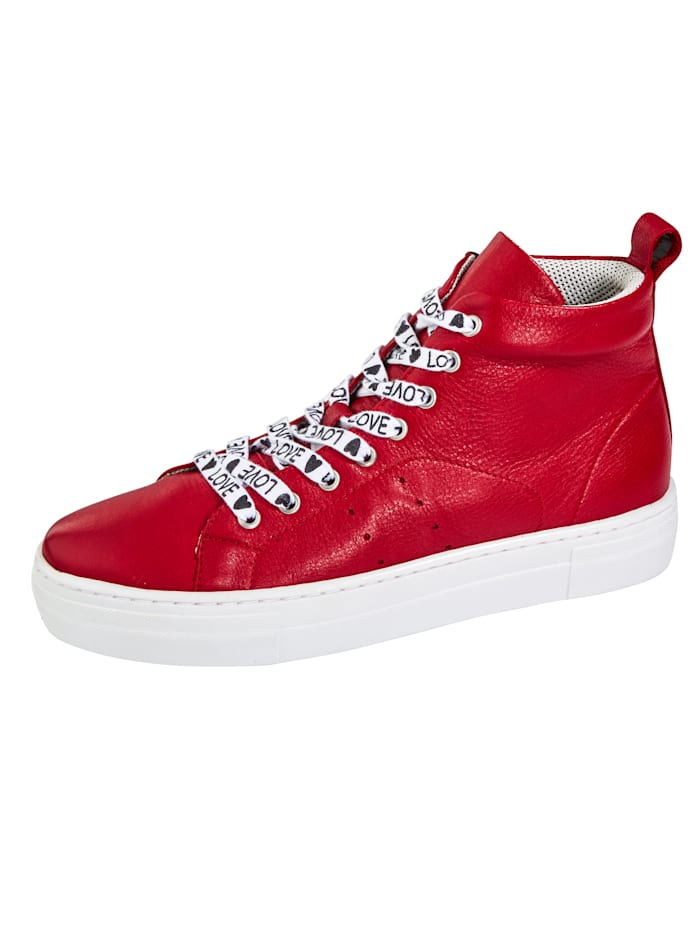 Liva Loop High-Sneaker exklusiv und nur bei uns!, Rot