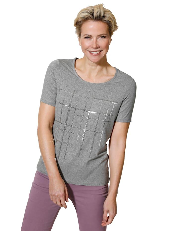 T-shirt en matière chinée