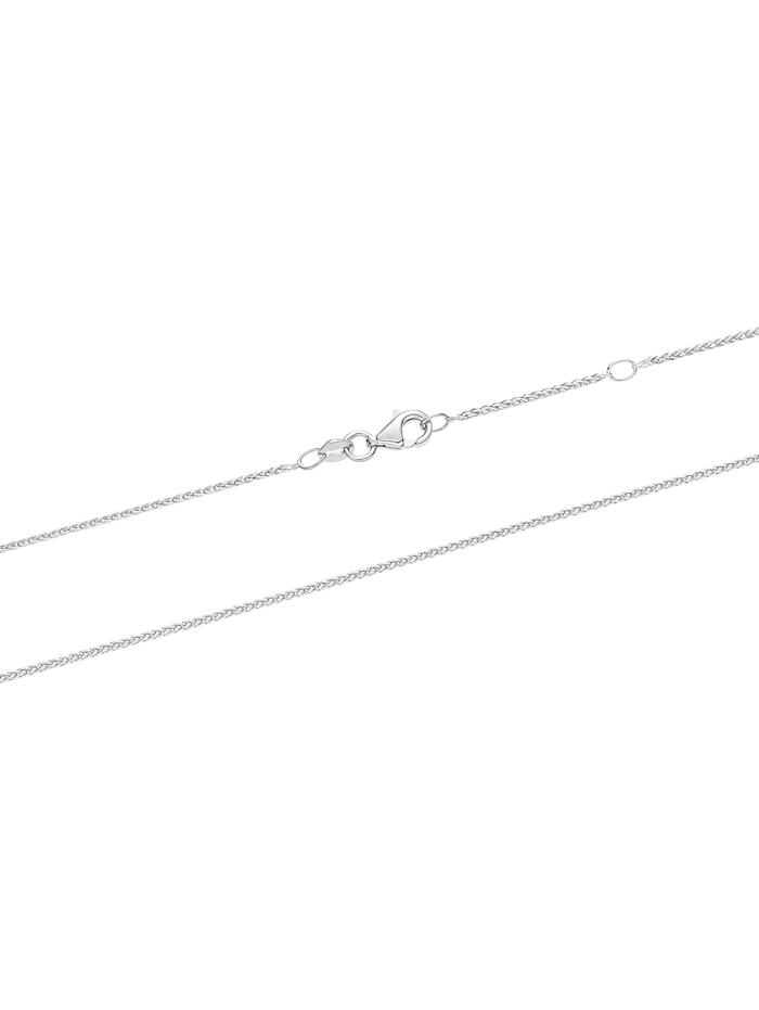 CHRIST Damen-Kette 585er Weißgold 1 Diamant