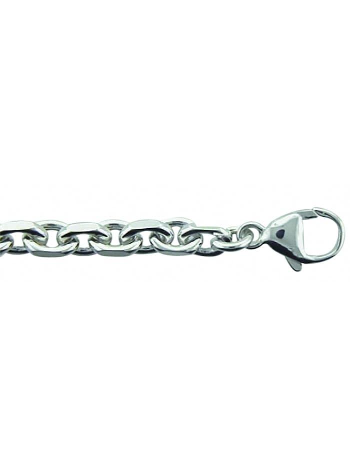 1001 Diamonds Damen Silberschmuck 925 Silber Anker Halskette 50 cm, silber