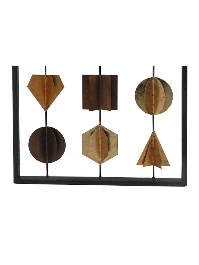 Möbel-Direkt-Online Wanddekoration Wohnaccessoires, Bronze/Braun/Schwarz