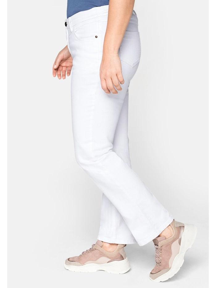 Jeans LANA mit Used-Effekten