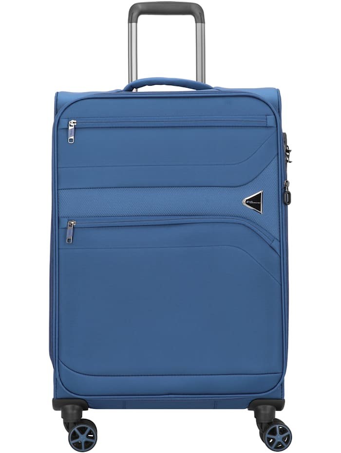 cocoono Devotion 4-Rollen Trolley 67 cm, blau