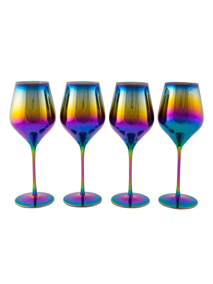 IMPRESSIONEN living Glas-Set, 4-tlg., multicolor
