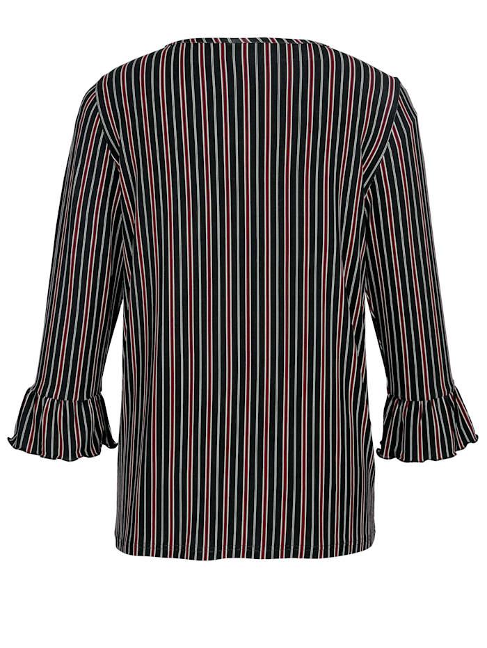 Shirt mit Volantärmel