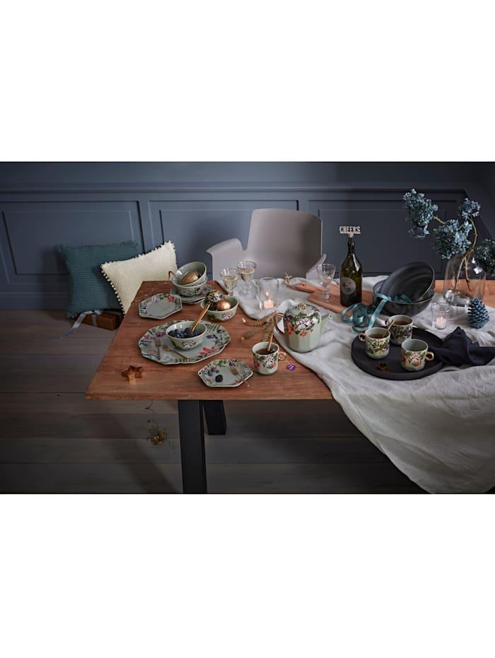 Essenza Dessertteller-Set, 4-tlg., Grün