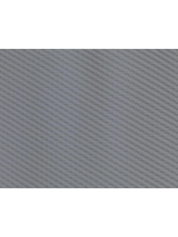 Duschvorhang Punto Grau, Textil (Polyester), 180 x 200 cm, waschbar