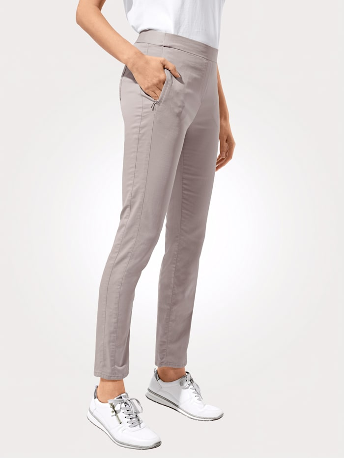 Relaxed by Toni Pantalon à taille extensible, Sable
