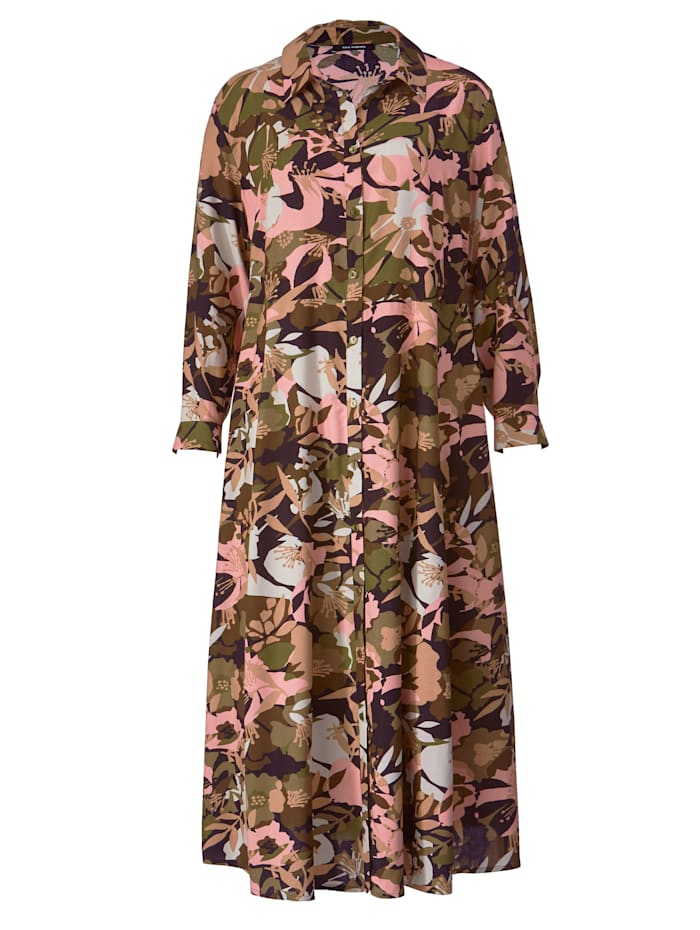 Maxi-jurk met flatterende A-shape