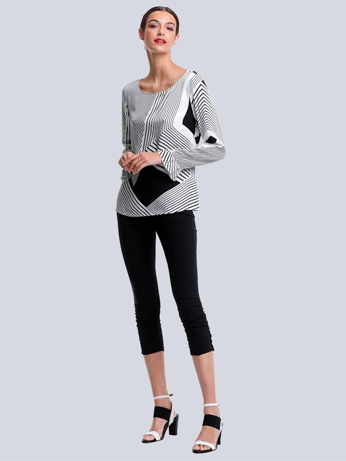 Kalhoty z tvarově stabilní Techno kvality