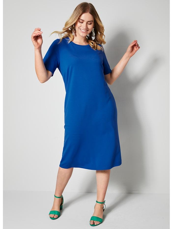 Sara Lindholm Jersey-Kleid, royal