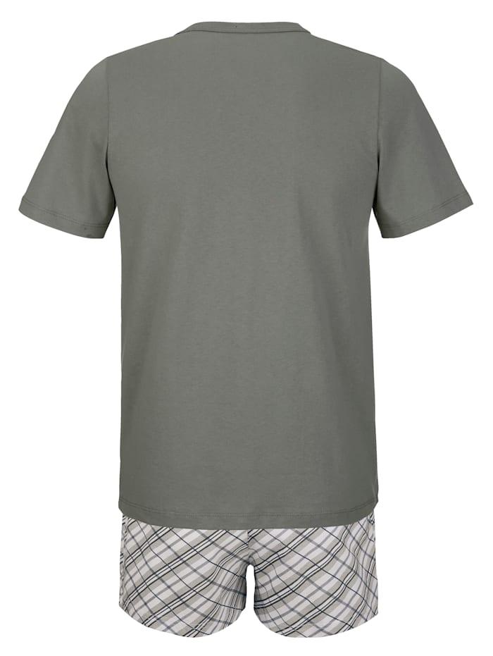 T-shirt avec boxer