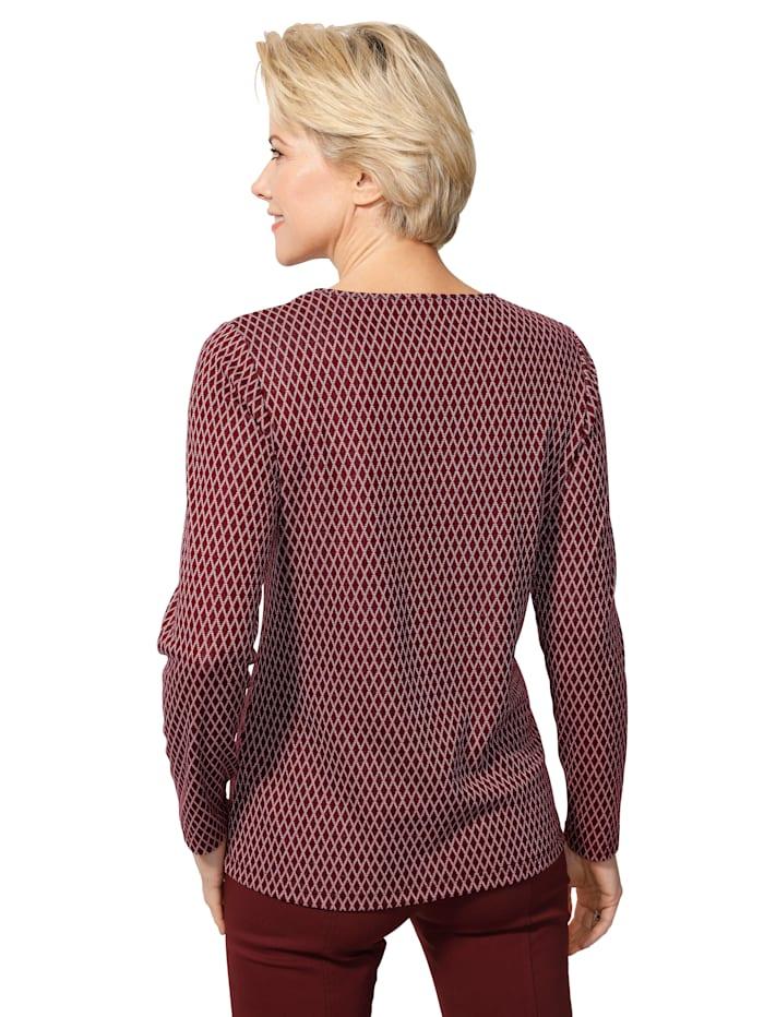 T-shirt avec fil brillant