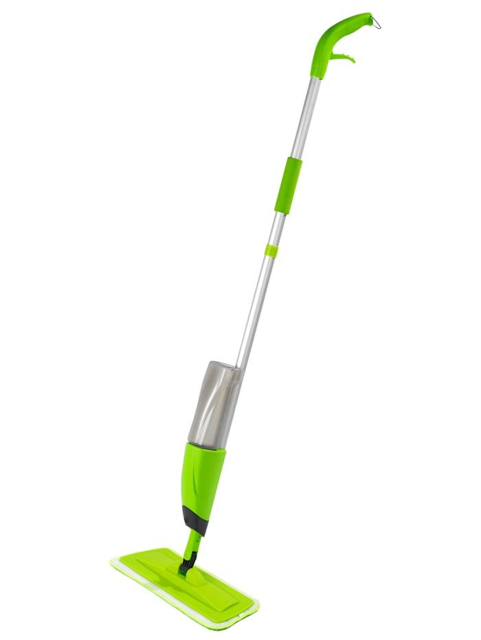 Wenko Sprüh-Mop für die tägliche schnelle Reinigungsarbeiten, grün