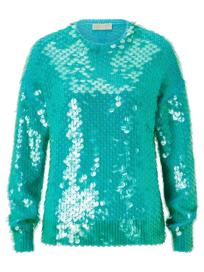 MICHAEL Michael Kors Sweater, Türkis