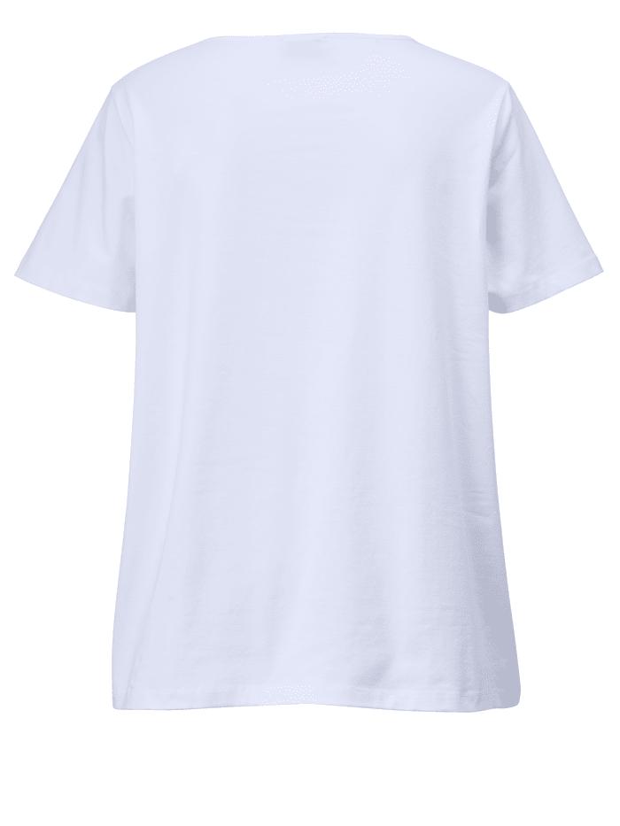 Shirt met motiefprint