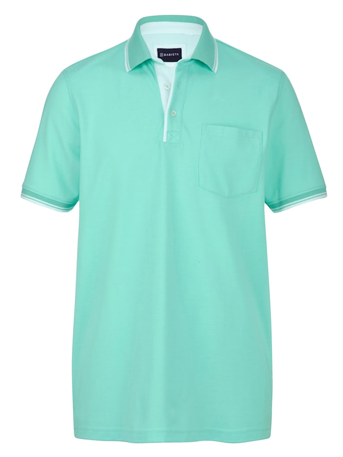 BABISTA Poloshirt met borstzak, Mint