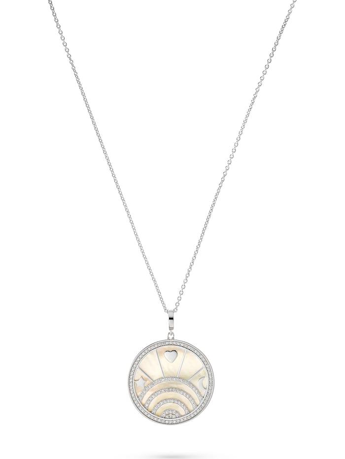 Jette JETTE Silver Damen-Kette 925er Silber 124 Zirkonia, silber
