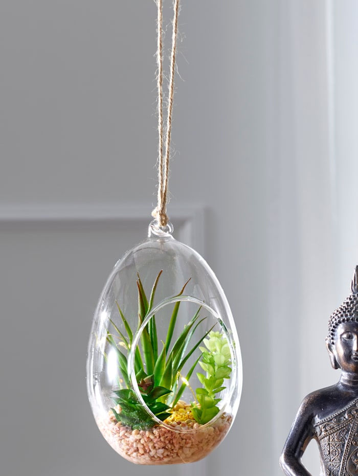 Suspension succulentes à LED