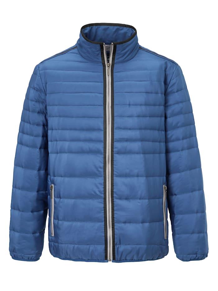 BABISTA Prošívaný bluzon v lehkém letnémprošívání, Modrá