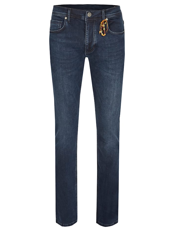 Daniel Hechter Straight-Fit Jeans, royal