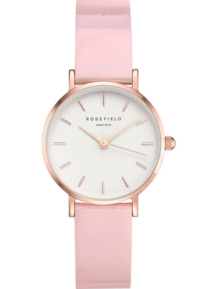 ROSEFIELD Rosefield Damen-Uhren Analog Quarz, pink