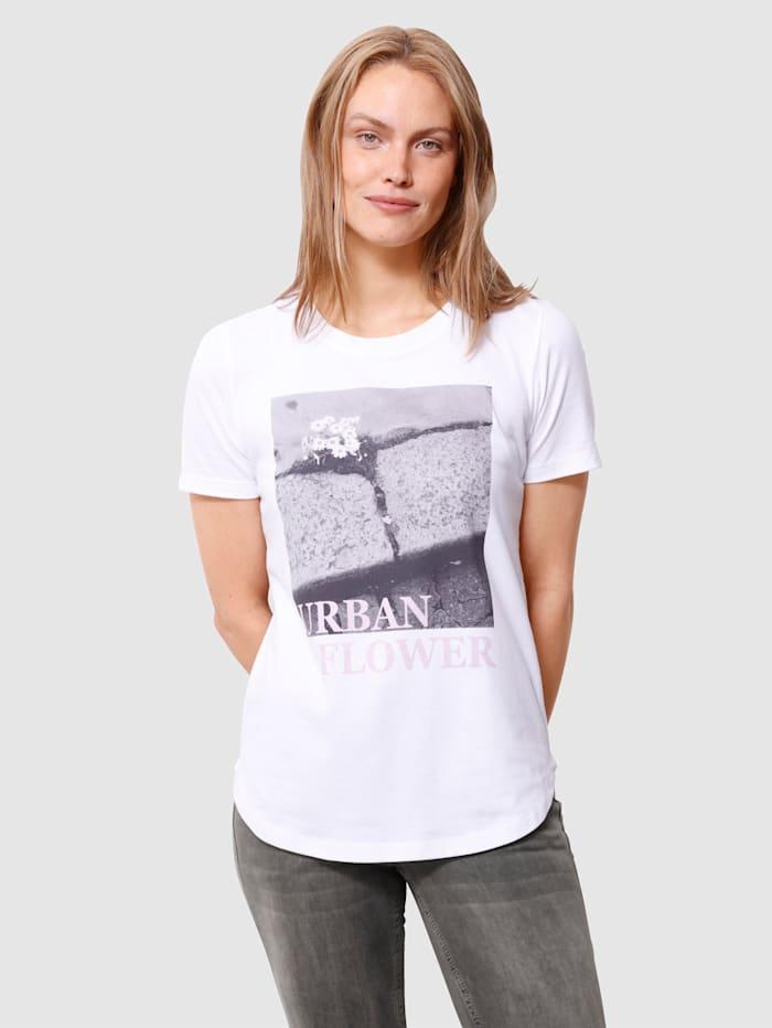 Laura Kent Tričko s potlačou, Prírodná biela