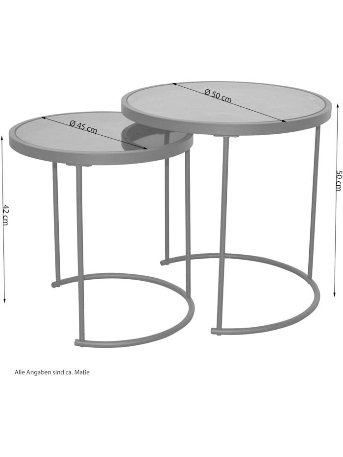 Beistelltische 2tlg. 2-Satz-Tisch
