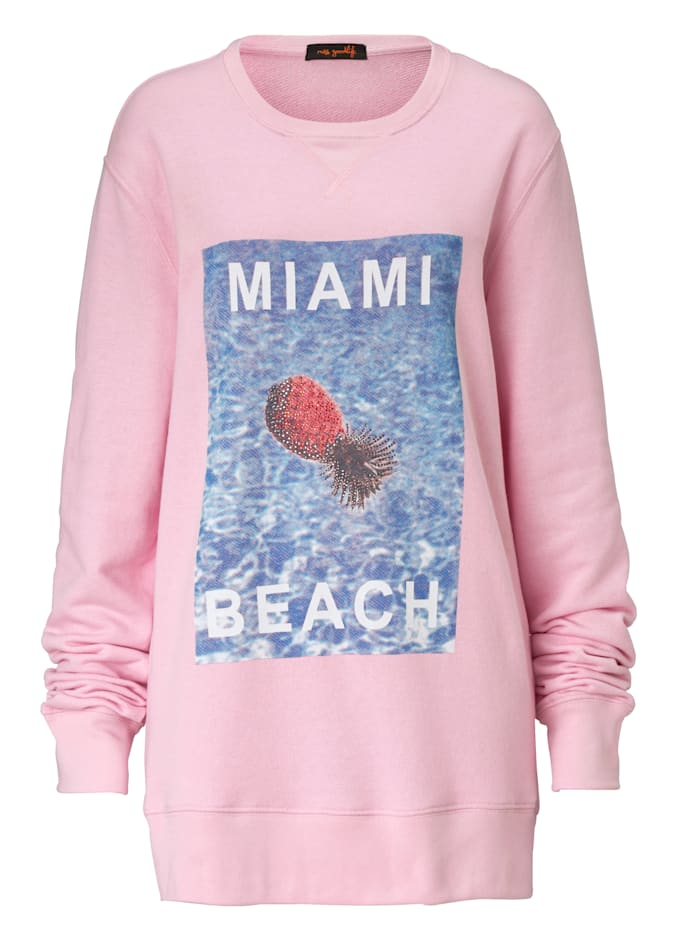 miss goodlife Sweatshirt, Rosé