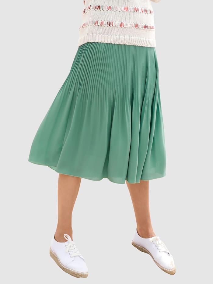 Dress In Jupe à effet plisé, Sauge
