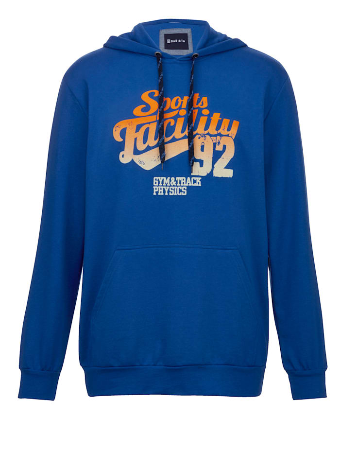 BABISTA Sweatshirt in typischem Hoodie-Style, Blau