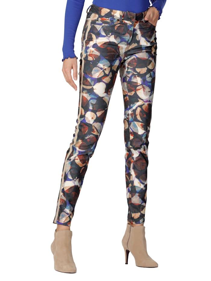 AMY VERMONT Hose mit grafischem Druck, Multicolor