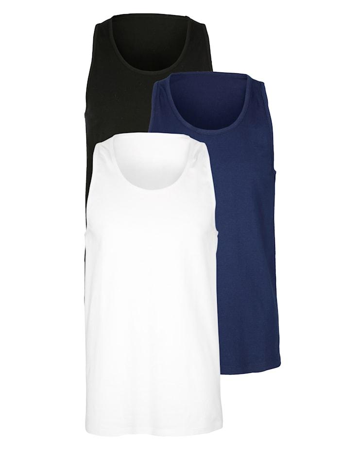 Achselhemd aus Organic Cotton 3er Pack