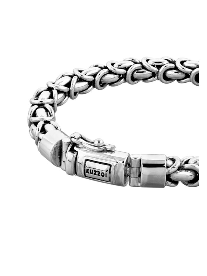 Armband Herren Panzerarmband Königskette Basic 925 Silber