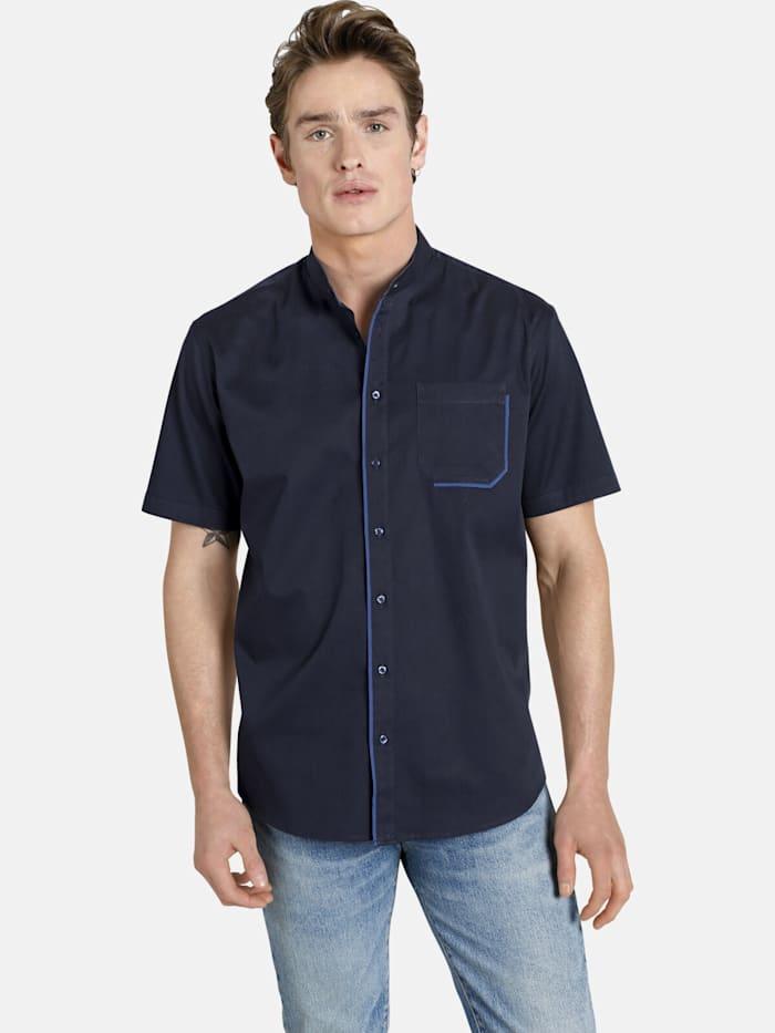 Shirtmaster Shirtmaster Kurzarmhemd latenight, dunkelblau