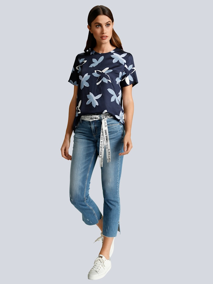 Jeans 'Tess' mit Bindegürtel