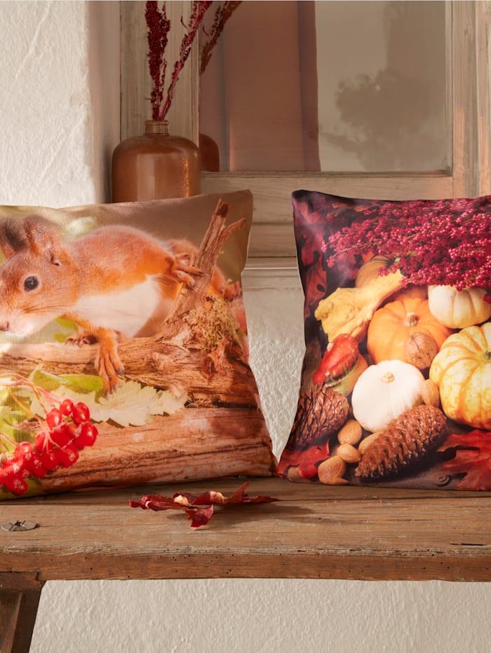 Webschatz Webschatz-Kissenhüllen 'Herbst', bunt