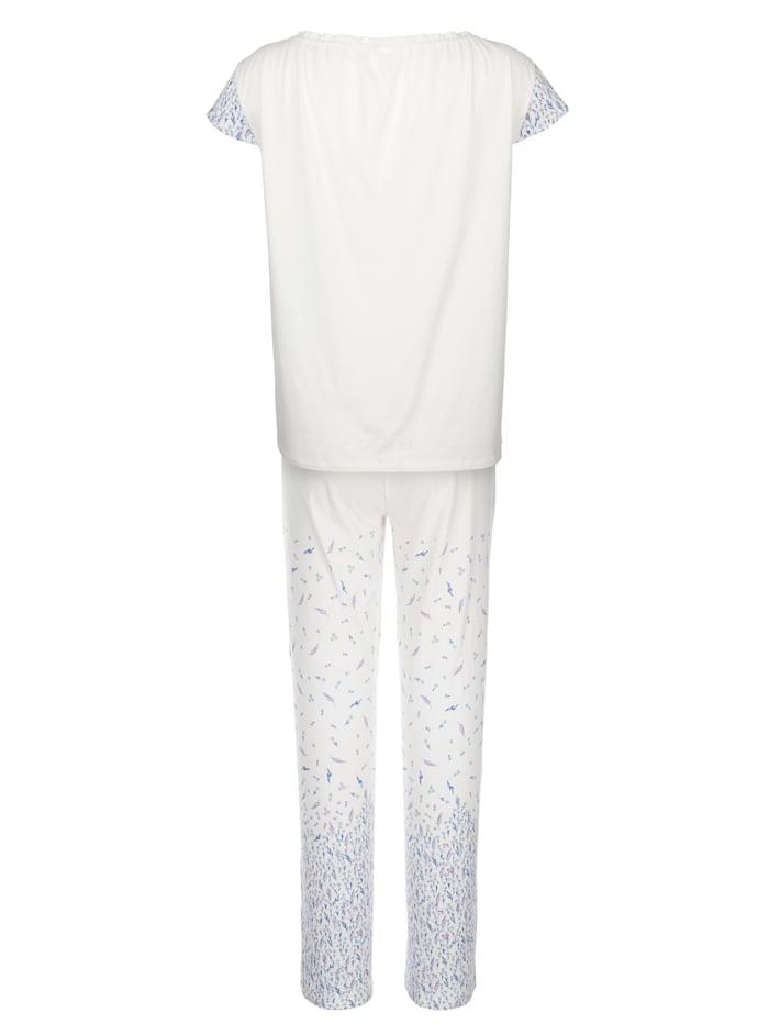 Pyjama met modieuze hals