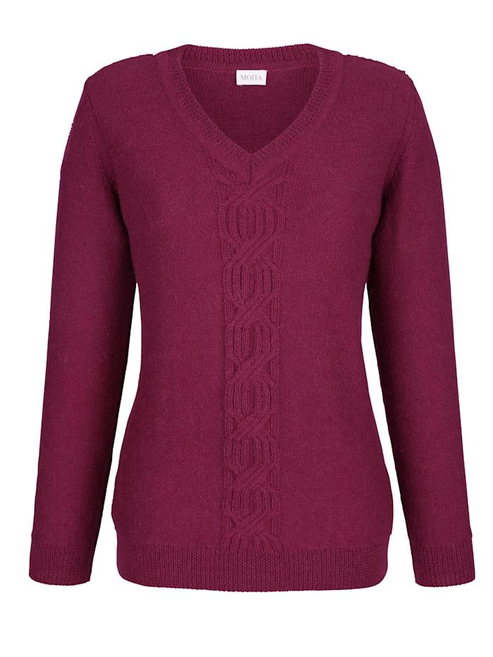 Pullover aus reiner Alpakawolle