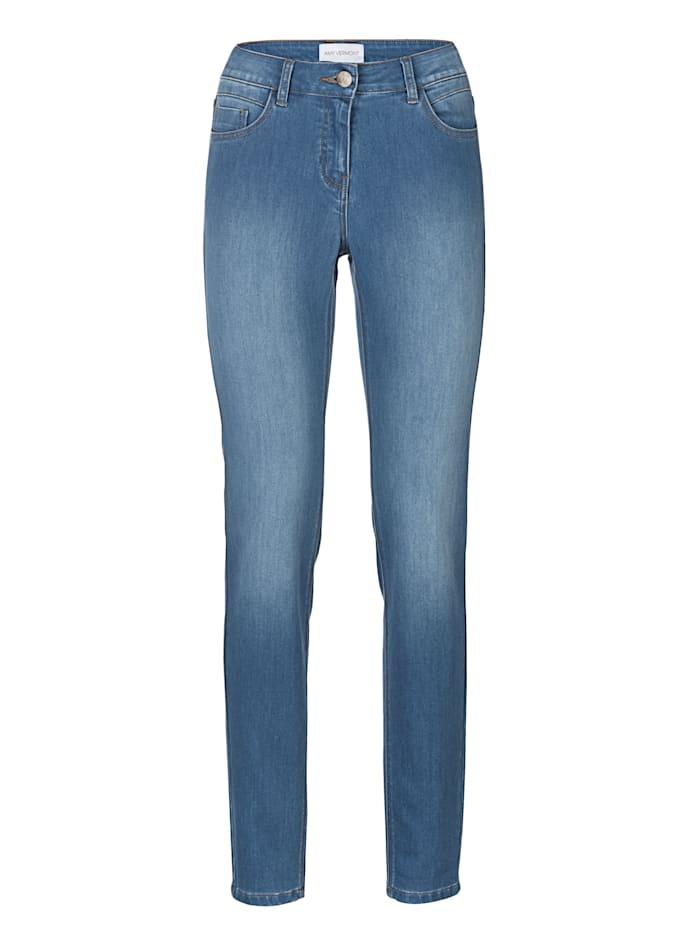 AMY VERMONT Jeans mit dezenter Waschung, Light blue