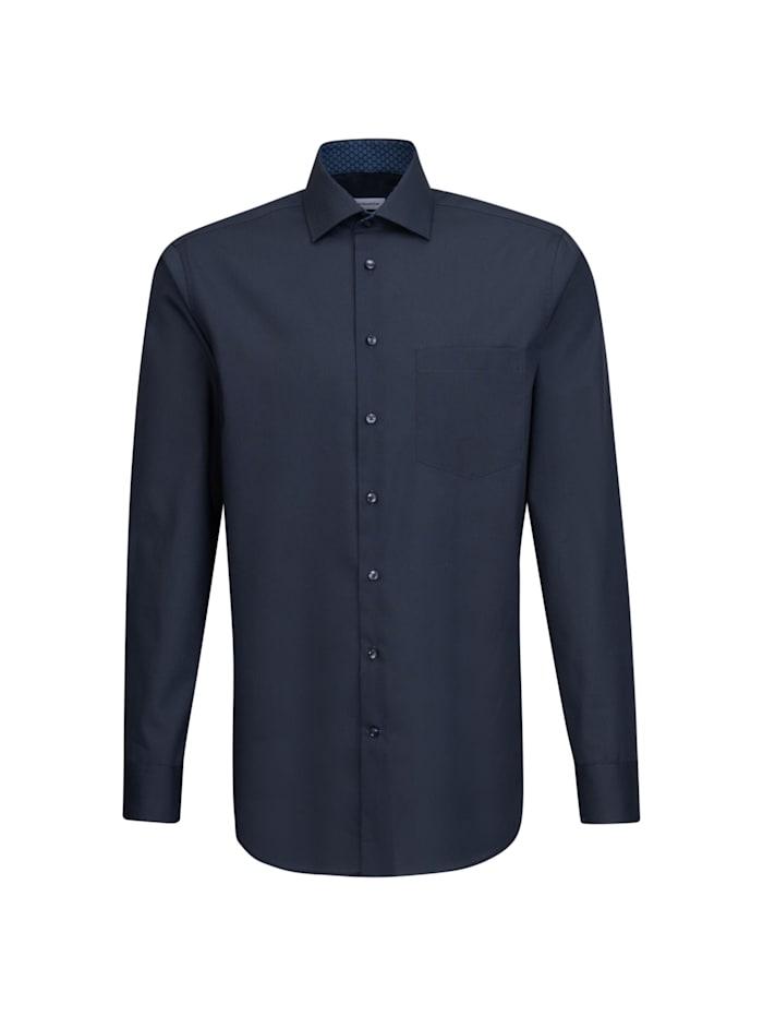 Seidensticker Business Hemd ' Regular ', dunkelblau (0019)