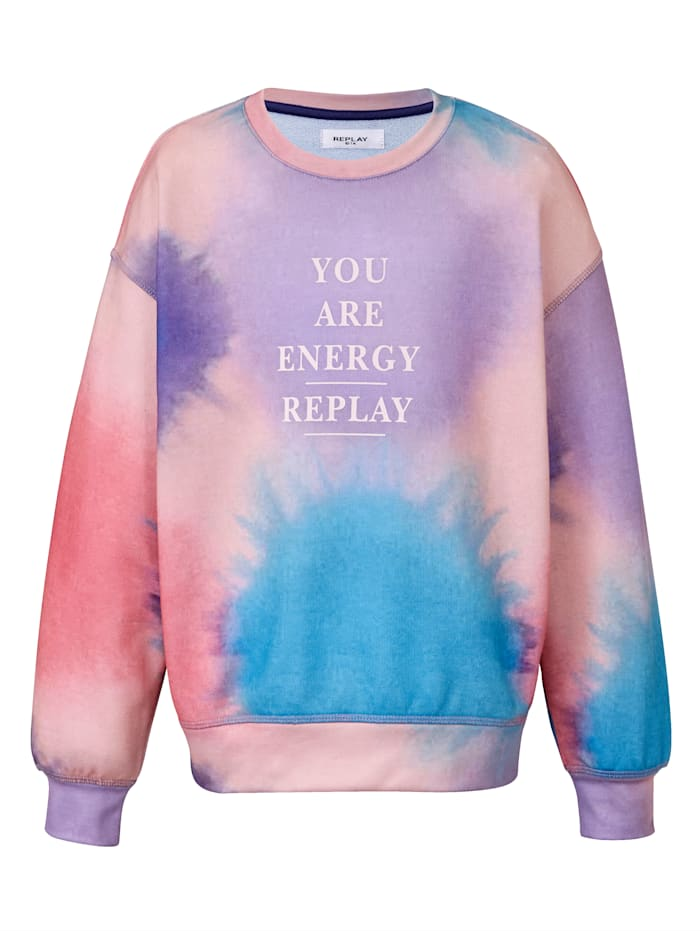 REPLAY Kids Pullover, Rosé