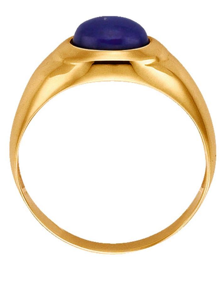 Ring med lapis lazuli