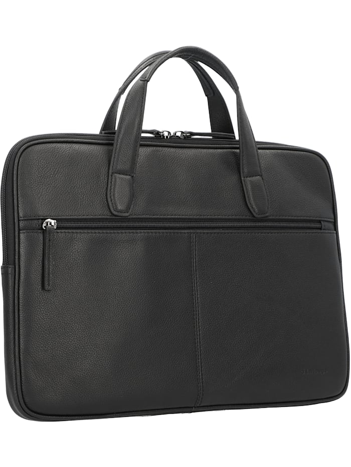 Business Line Aktentasche Leder 40 cm Laptopfach