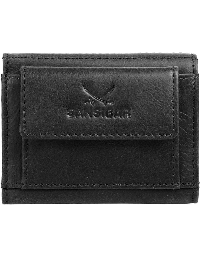 Sansibar Geldbörse, schwarz