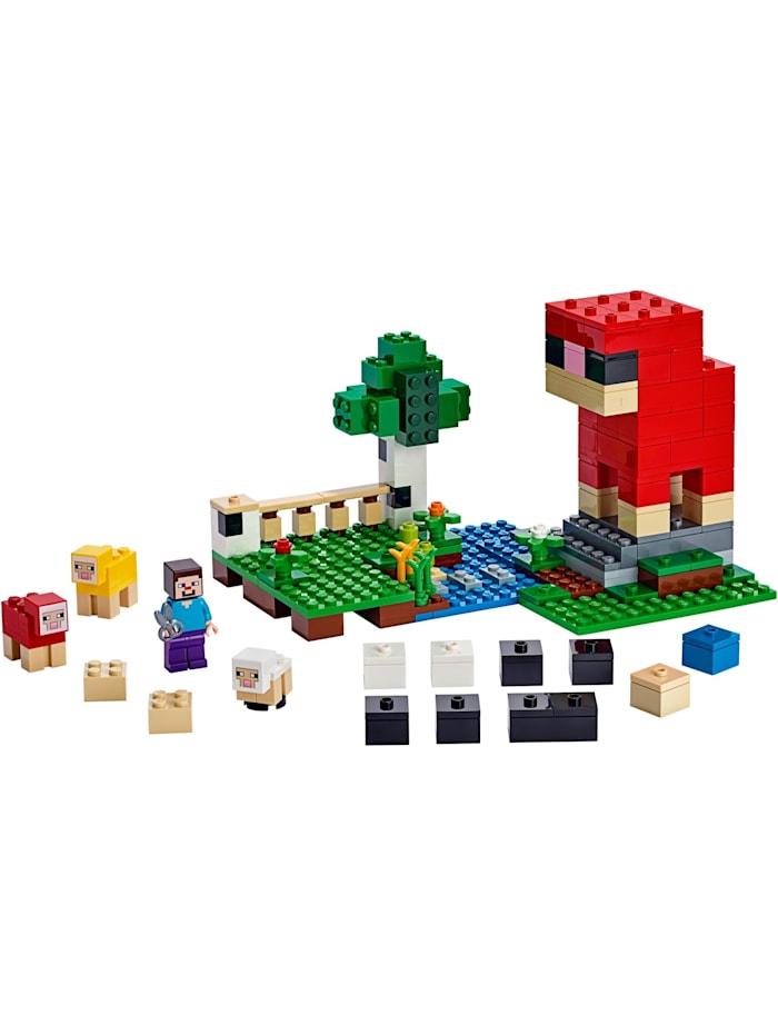 Konstruktionsspielzeug Minecraft Die Schaffarm