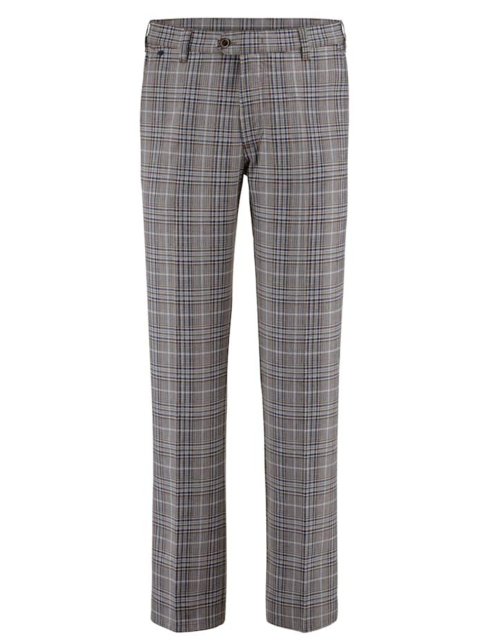 BABISTA Nohavice z luxusnej tkaniny, Béžová/Modrá