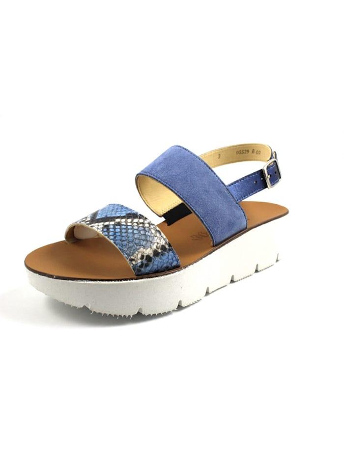 Paul Green Sandale, blau